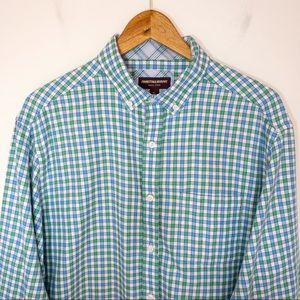 Johnston & Murphy Men Size XL Shirt Check